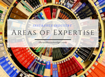 Areas of Expertise - Insurance Industry