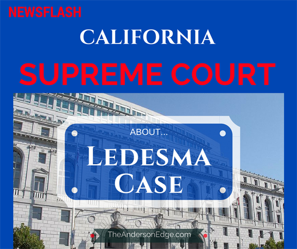 California Supreme Court Ledesma Case News