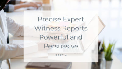 Precise Expert Witness Reports