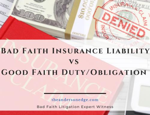 Bad Faith Insurance Liability